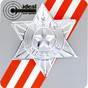 Sheriff-Stern auf Karte