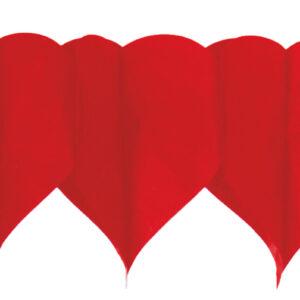 Girlande Herz rot
