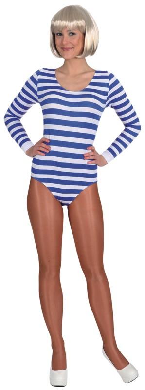 Body,blau-weiß gestreift Gr./KW: L/XL