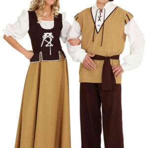 Kostüm Mittelalter Magd Gr. 44