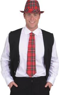 Krawatte Karo (gebunden)