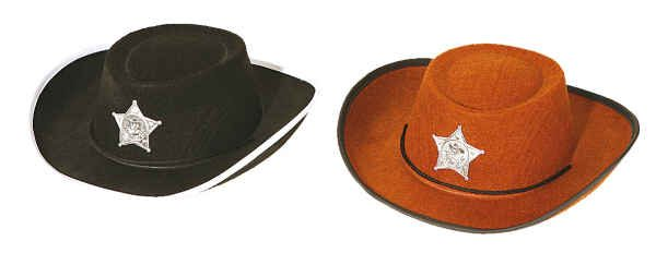 Cowboyhut,schwarz f. Kinder Gr./KW: Kindergr.