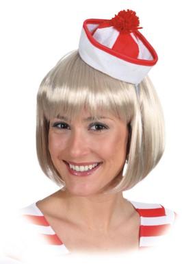 Minihut Sailor,rot Gr./KW: Einheitsgr.