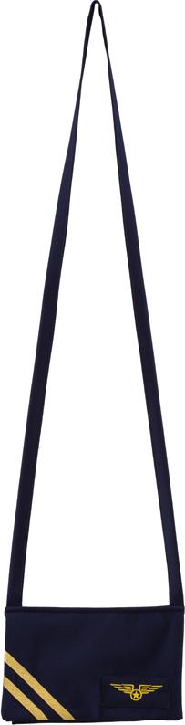 Stewardess Tasche,blau