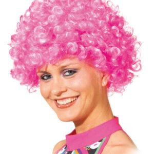 Hair kleine Locke,pink