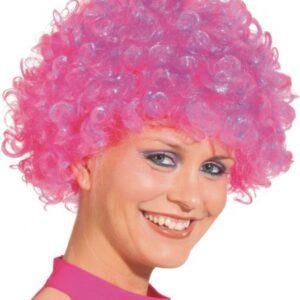 Hair kleine Locke,neonpink