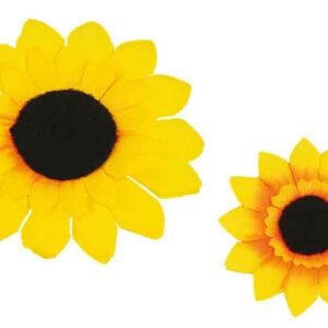 Ansteck Sonnenblume 10cm (m. Anstecknadel)