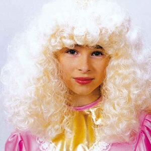 Prinzessin,blond f. Kinder Gr./KW: Kindergr.