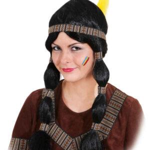Indianerin Cheyenne (braunes Band)