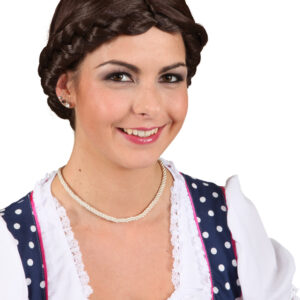 Perücke Antonia, braun