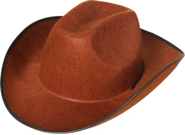 Cowboyhut braun Gr./KW: Einheitsgr.