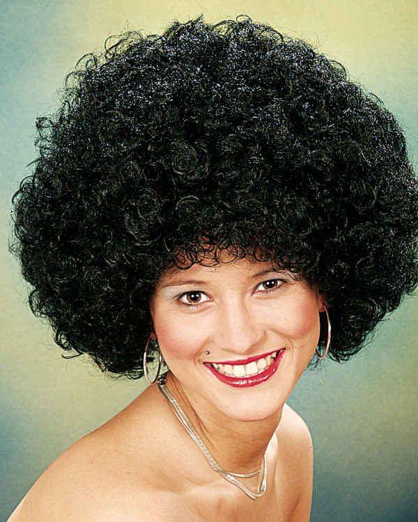 Hair große Locke,schwarz