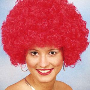 Hair große Locke,rot