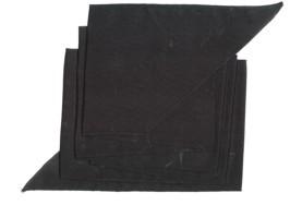 Schärpe,schwarz 1,80m lang