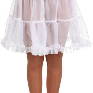 Petticoat,weiß,knielang Gr./KW: 36/38