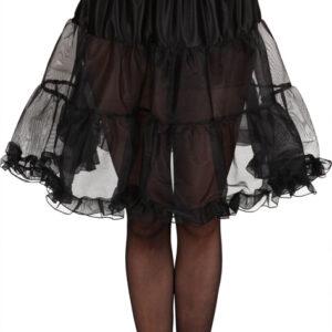 Petticoat,schwarz,knielang Gr./KW: 36/38