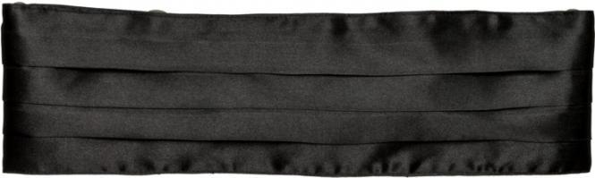 Kummerbund schwarz Gr.verstellbar