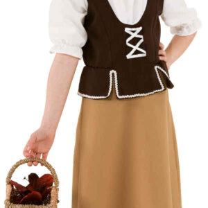 Kleine Magd (Kleid,Haube) Gr./KW: 164