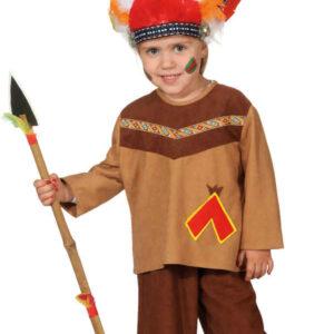 Indianer Junge (Oberteil,Hose) Gr./KW: 128