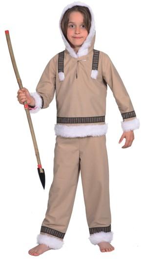Eskimo Junge (Oberteil,Hose) Gr./KW: 128