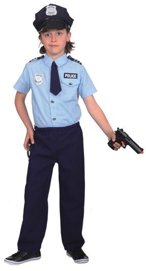 Polizist (Hemd,Hose,Krawatte) Gr./KW: 152