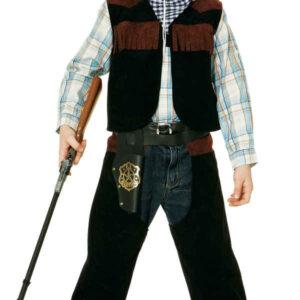 Sheriff (Weste,Chaps,Tuch) Gr./KW: 128