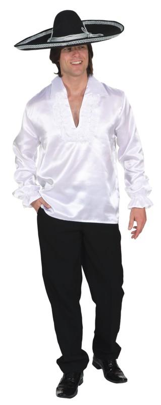 Spanierhemd,weiß Gr./KW: 54