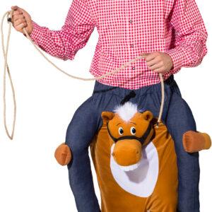 Huckepack Pferd (carry me; Hose m. Gummibund) Gr. 1,80-1,95m