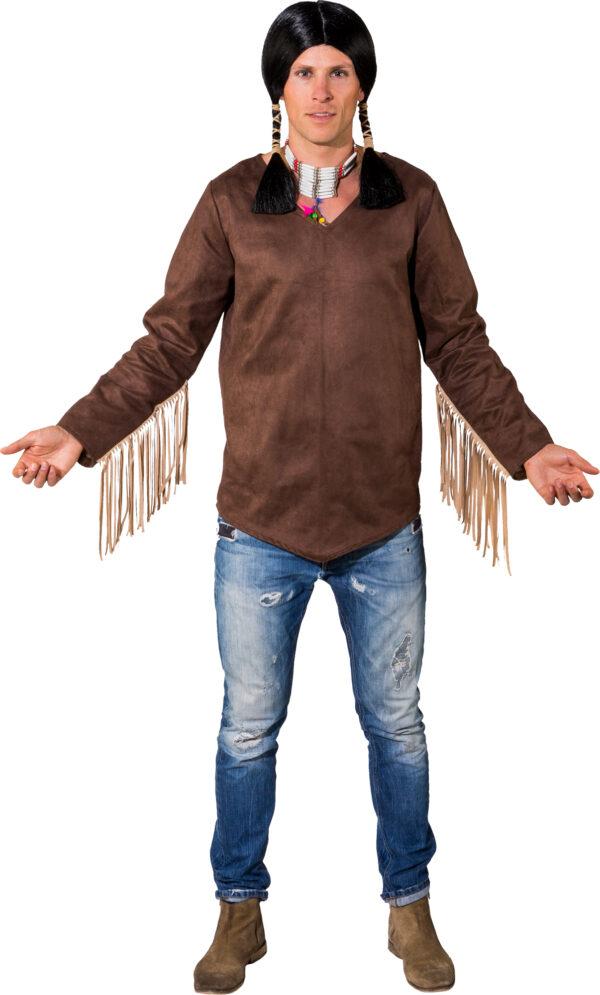 Indianer Hemd Gr. 50/52
