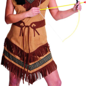 Indianerin Cheyenne (Kleid,Gürtel) Gr./KW: 46