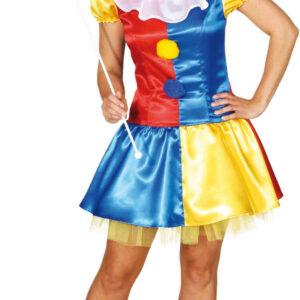 Sexy Clownkleid (Kleid,Petticoat) Gr./KW: 36