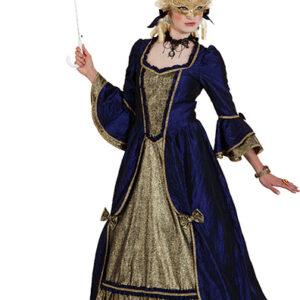 Barock Dame (Kleid; ohne Reifrock) Gr./KW: 42