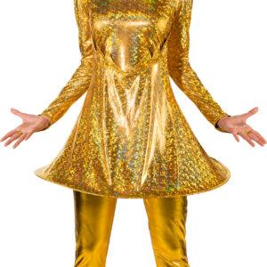 Schlaghose, gold Gr. L/XL