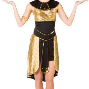 Ägypterin (Kleid m. Kragen, Gürtel) Gr. 42/44