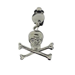 Ohrring Pirat platin