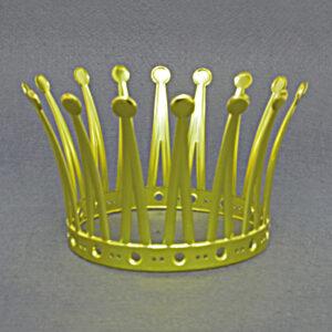 Krone 16 Zacken gold, St