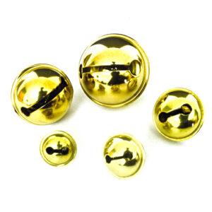 10 St. Schellen goldf. 15mm Durchmesser
