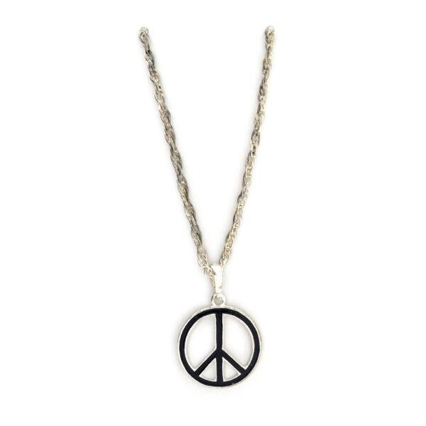 Kette Peace platinfb.
