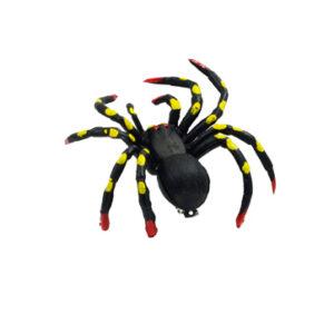 Haarspange Spinne groß schwarz 9x11 cm