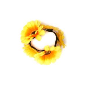 Armband Blumen gelb