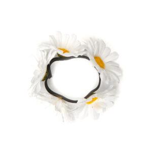 Armband Blumen weiß