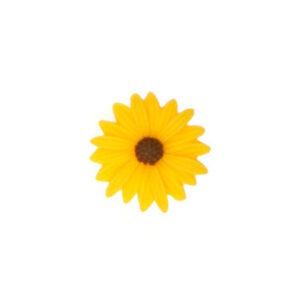 Fingerring Sonnenblume gelb Ø2,6 cm