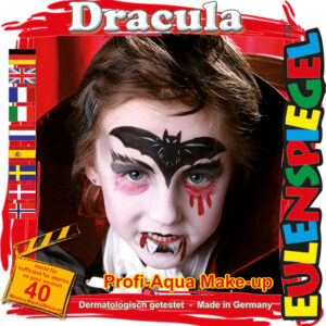 Motiv-Set Dracula, mit 4 Farben, Pinsel und Anleitung