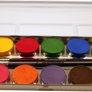 Aqua-Malkasten mit 12 Farben
