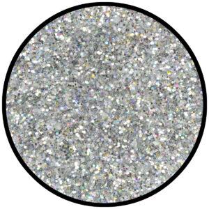 Kosmetik-Glitzer silber-juwel 6g
