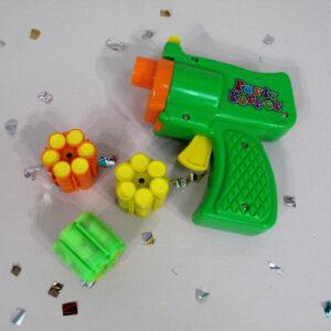 Konfetti-Pistole mit Munition