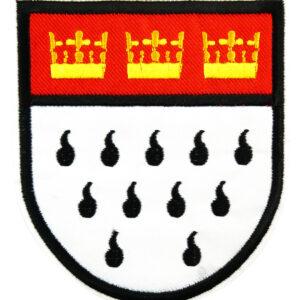 2 Bügelbilder Kölnwappen