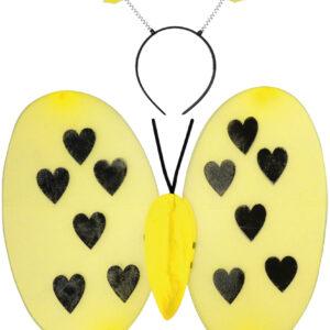 Bienen-Set Herzen