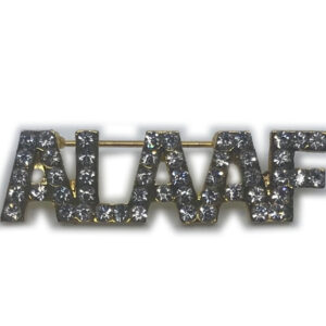 Brosche Alaaf, gold
