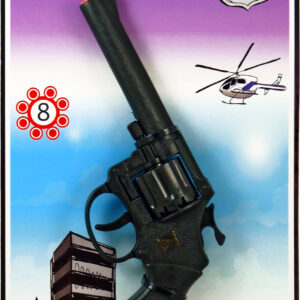 Pistole 8 Schuss Agent Jerry